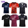 COZOK черные регби все Новой Зеландии майки 2018 2019 afl регби рубашка поло Shirta Maillot Camiseta Maglia Для мужчин рубашка S-5X