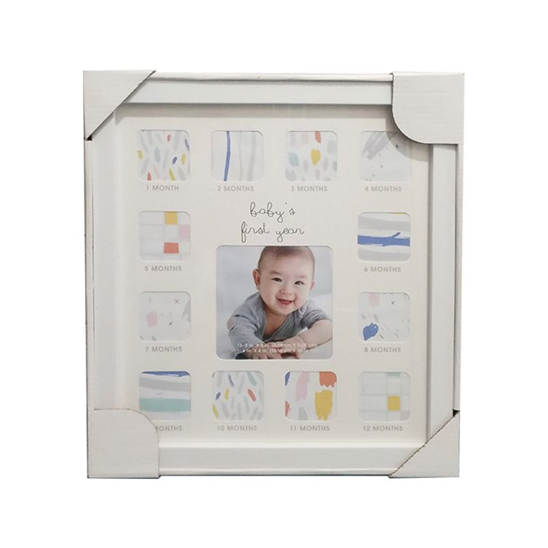 Baby 12 Months Commemorate Photo Frame Multi-function Wall Hanging Ornament X5XE