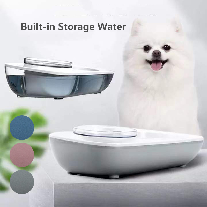 OUYXR Care For Spine Dog Feeder Automatic Water Dispenser Food Drinking Bowl for Dogs