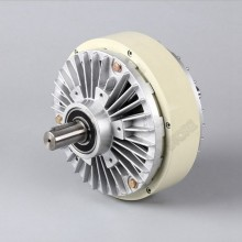 Магнитная Порошковая муфта 10 кг 100Nm DC 24V двойной вал 2 оси обмотки тормоза для натяжения мешок управления с рисунком машины
