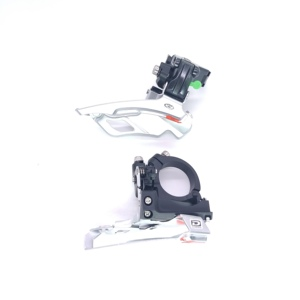 Image 2 - Shimano Deore FD M610 M591 10 30 Speed Triple Top Swing Dual Pull MTB Front Derailleur M591 Mountain Bike Bicycle