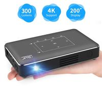 Vivicine P10 Android Smart Wifi Portable Mini LED DLP Projector for Smartphone 200inch Home Theater