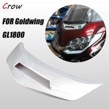 The accent chrome cover decoration of the front fairing is used for Honda Goldwing 1800 F6B GL1800 2018 2019 2020