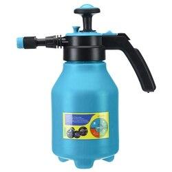 Przenośna pompa rozpylacza chemicznego nacisk dłoni rozpylacz typu trigger butelka regulowana miedziana dysza kompresja powietrza pompa Spray 2.0L na
