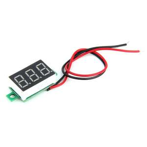 Voltage-Meter 3-Digital Led-Panel Lcd-Display Adjustment Mini 200ms/Time Size