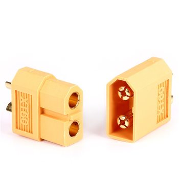 High quality XT60 XT-60 Male-Female Bullet Connectors Plugs For RC Lipo Battery image
