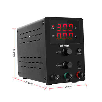 DC Laboratory Adjustable Power Supply 30V 10A Unit Bench Source Universal Switching Lab Power Supplies 120V 3A voltage regulator