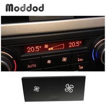 Кнопка управления вентилятором кондиционера для BMW X1, 1, 3 серии, E84, E87, E88, E90, E91, E92, E93, LCI, обогреватель, переключатель панели климата, крышка