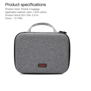 Image 3 - Gimbal صندوق تخزين لـ dji osmo pocket 2 ، حقيبة محمولة ، قطع غيار ، ملحقات الكاميرا