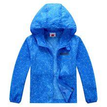 Береговая линия весна осень дети софтшелл походные кожаные куртки Дети Открытый Кемпинг Треккинг скалолазание пальто водонепроницаемый тонкий стиль