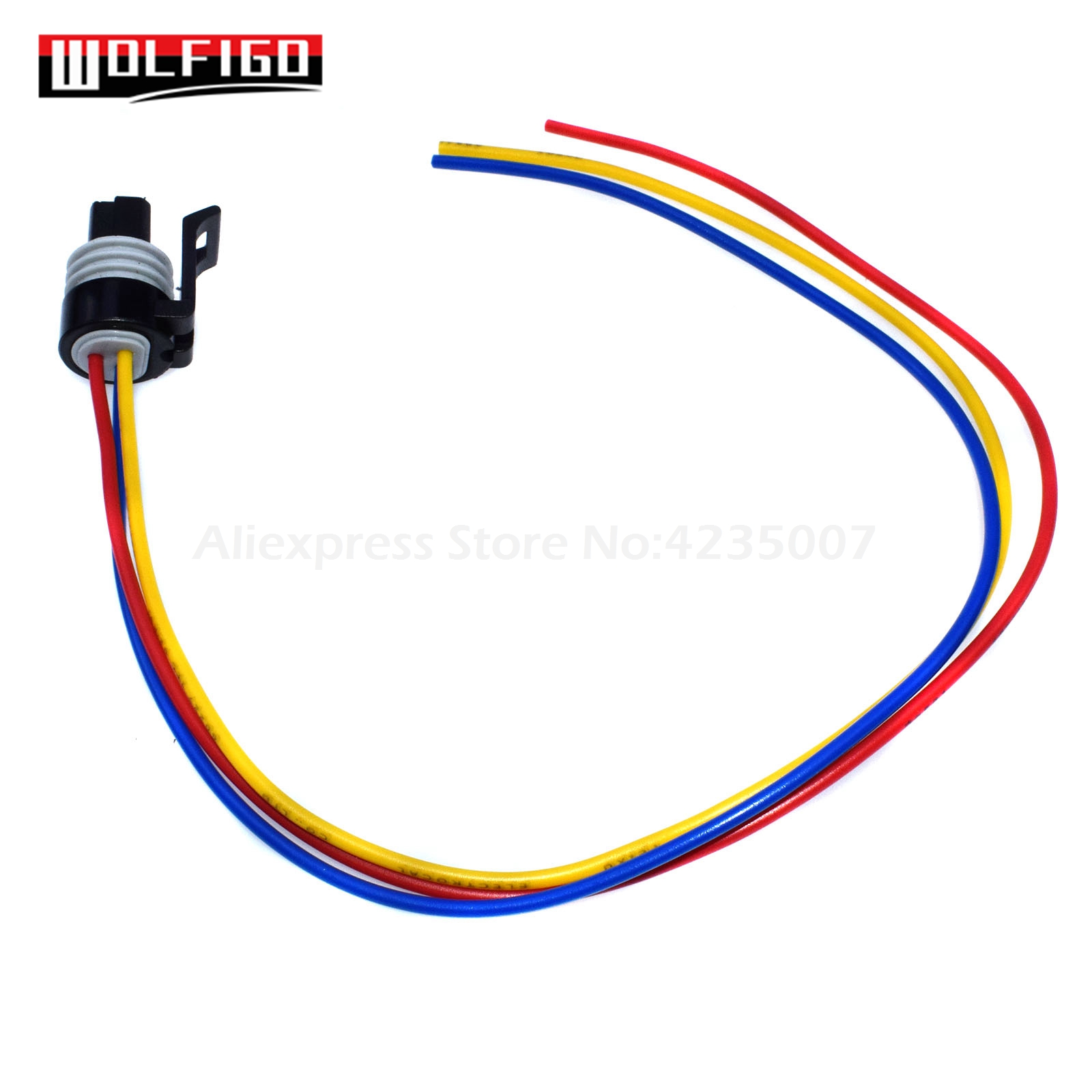 TPS Throttle Position Sensor Pigtail Wiring Connector 3 wires 1P1065 For Pontiac