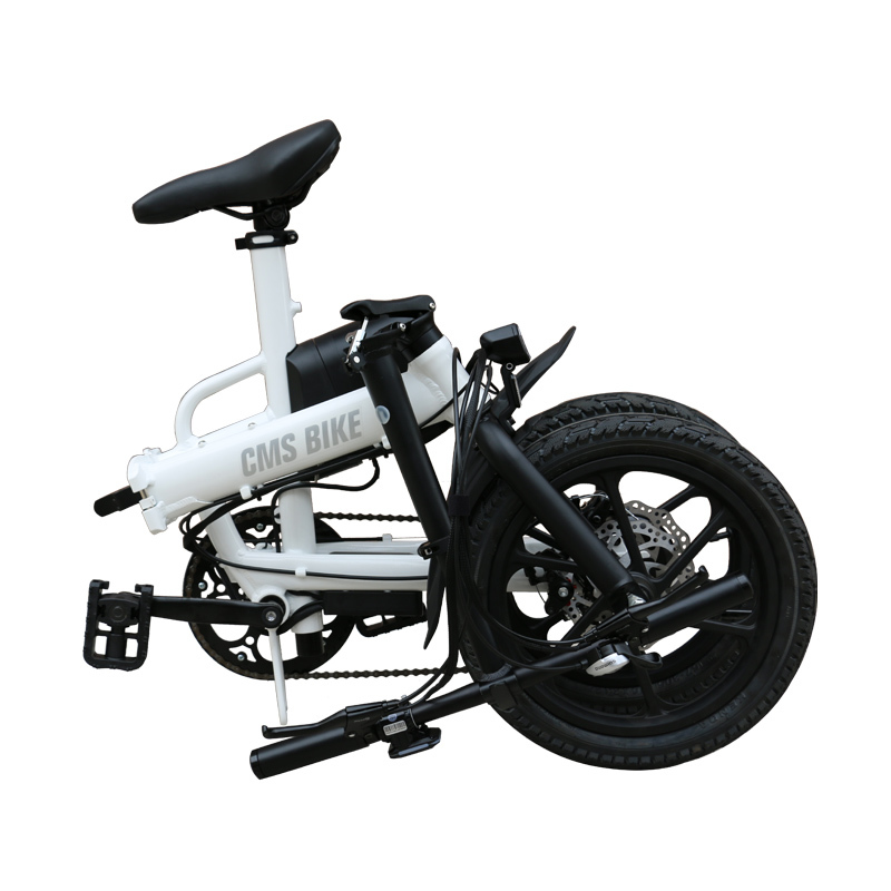 16'' lithium battery folding ebike adult electric bike city folding ebike with 36v 250w brushless motor 1