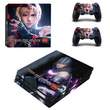 Dead Or Rlive 6 Style Skin Sticker for PS4 Pro Console And Controllers Decal Vinyl Skins Cover YSP4P-3270