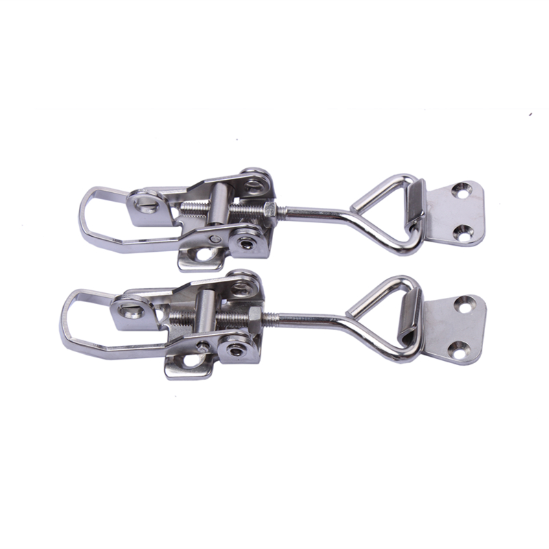 2pcs <font><b>Boat</b></font> Locker Anti Rattle Latch Fastener Clamp Marine Stainless Steel image