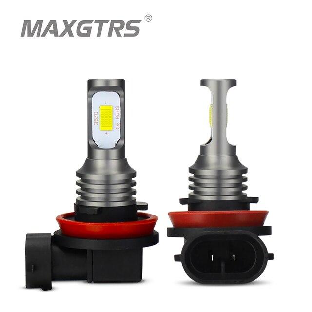 2x H1 H3 H7 H8 H11 9005 HB3 9006 HB4 H16 3570 Chip Canbus lampadina a Led per auto fendinebbia a Led DRL lampada bianco 6000K oro