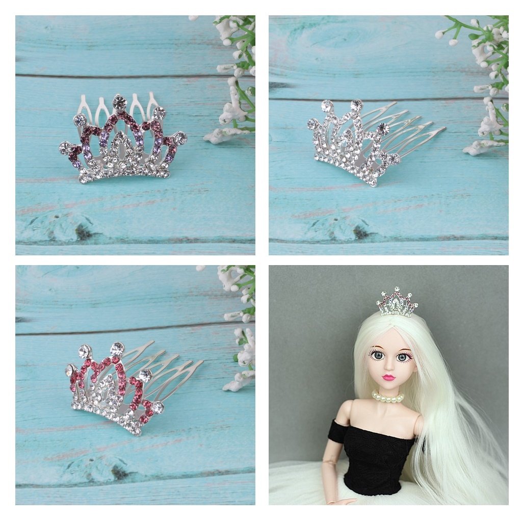 Lovely Doll Princess Crown Queen Jewelry Accessories For BJD 1: 3 1:4 Dolls For Bylthe Dolls Outfit