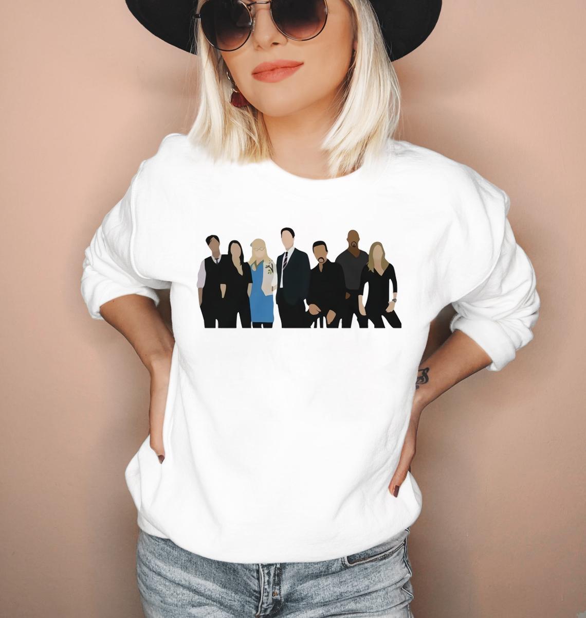 2020 Criminal Minds Faceless Unisex Heavy Blend Crewneck Sweatshirt Funny Criminal Minds Inspired Pullover Jumpers Hoodies Sweatshirts Aliexpress [ 1201 x 1140 Pixel ]