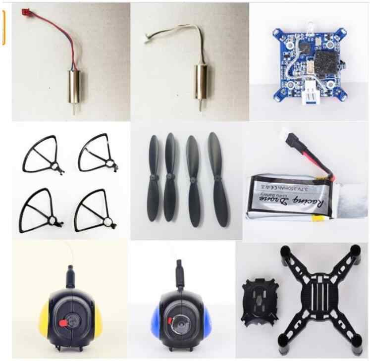 Fayee FY605 DIY Racing Battle RC Drone onderdelen bladen frame motor body shell ontvangen board camera set