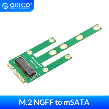 ORICO M.2 NGFF TO mSATA Adapter for 2230/2242/2260/2280mm M2 NGFF SSD Solid State Hard Drive M2 NGFF to mSATA