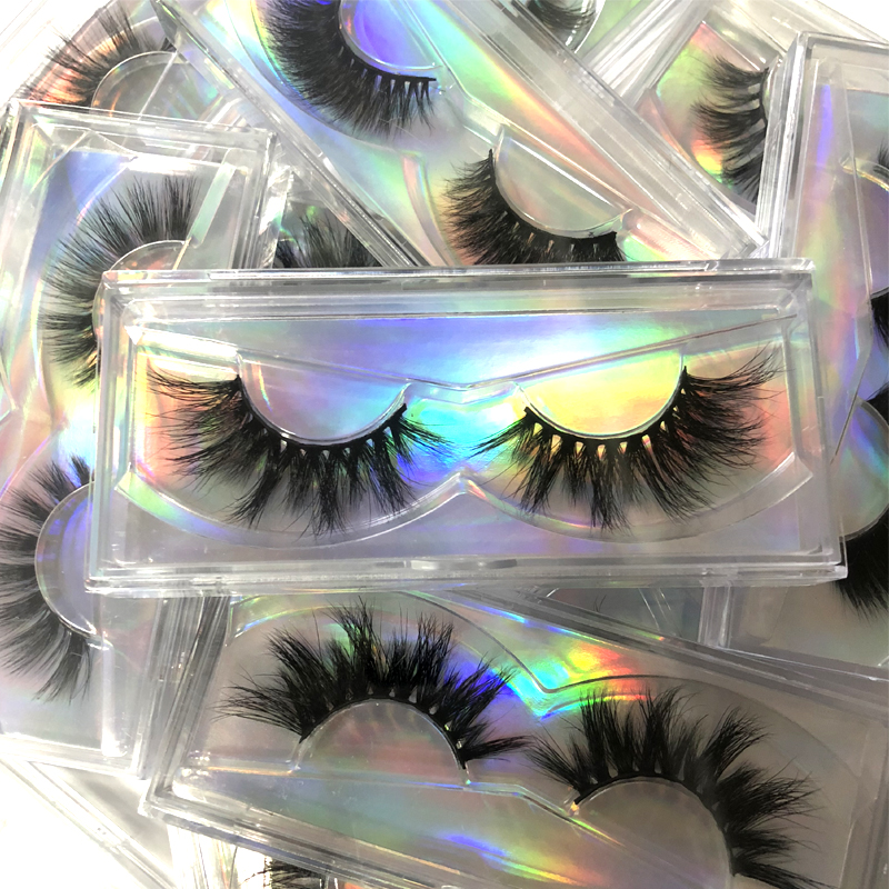 Wholesale Mink Fur Eyelash Free Box 10-20mm Volume Eyelashes 20pairs/lot Eyelashes 3D Mink Handmade Dramatic Lashes