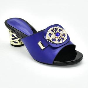 Image 5 - Zapatos de tacón alto para verano con plataforma para mujer, zapatos de tacón alto Sexy, italianos, de alta calidad, estilo africano, 2020