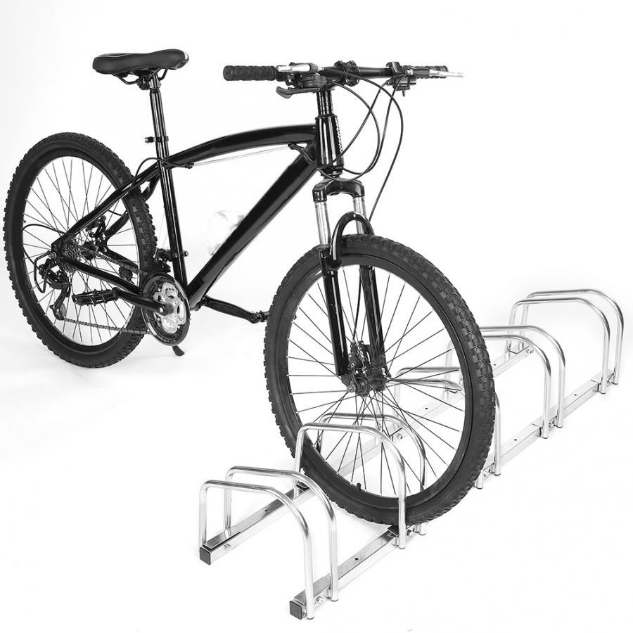 Us Au Bike Stand 5 Racks Steel Bike Display Floor Rack Bicycle