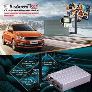 Image 3 - Adaptador de vídeo Dongle con pantalla WiFi para coche, navegación GPS, pantalla de espejo para iPhone X, 6, 7, 8 Plus, Android, Pad TV