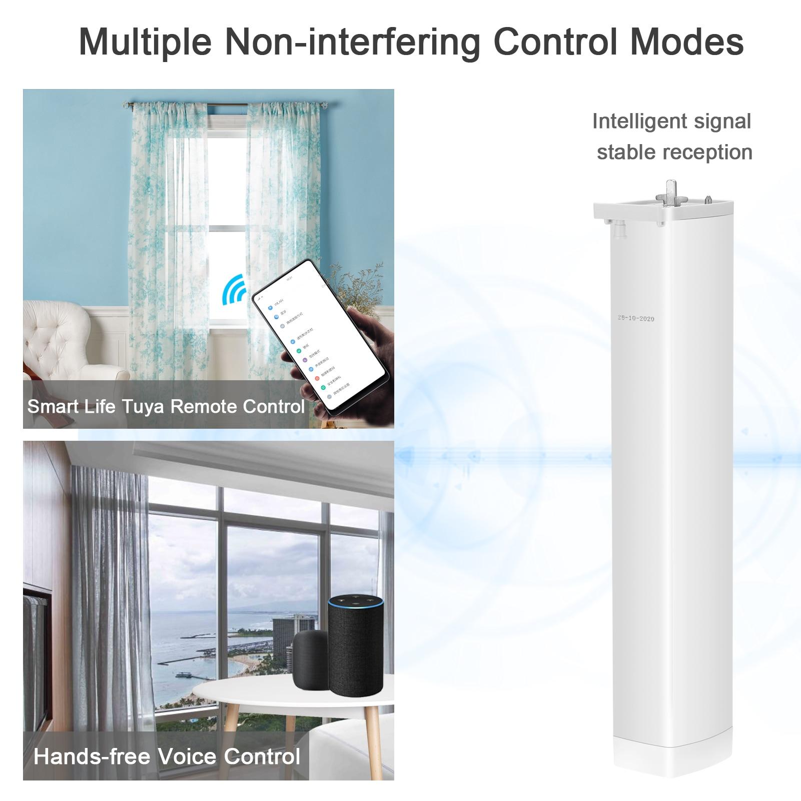 tuya wifi zigbee cortina cego interruptor eletrico 04