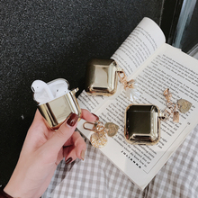 Luxury metal AirPods Case – Silver and Gold