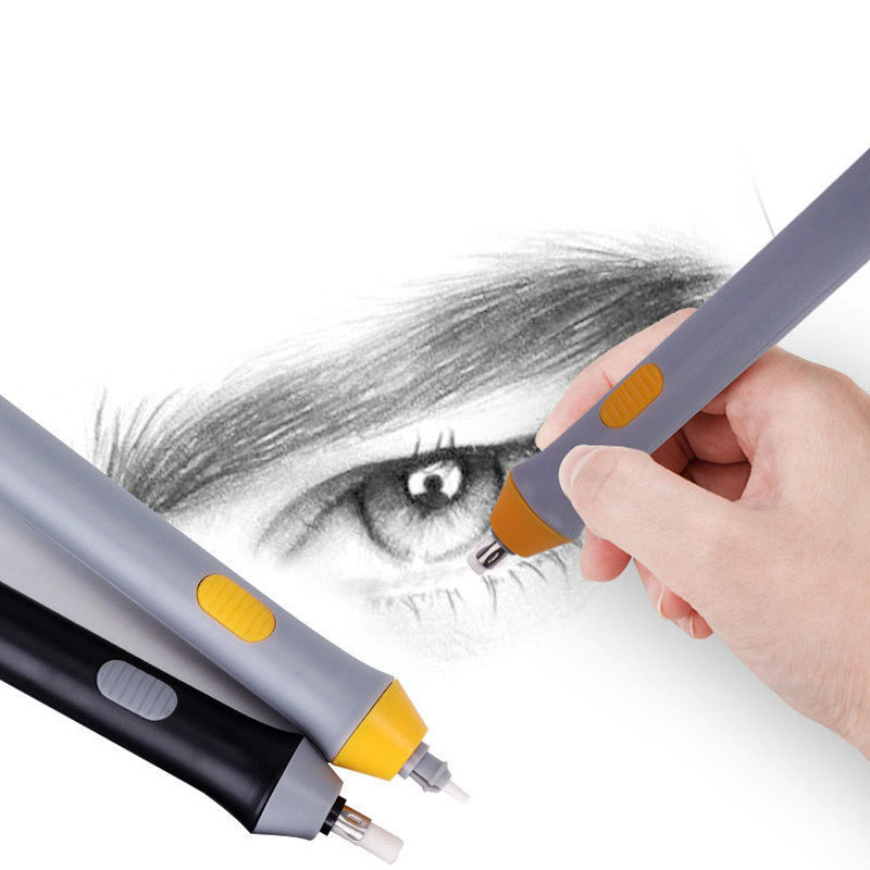 Electric Eraser Art Stationery Sketch High Light Creative Painting Automatic Eraser School Stationery