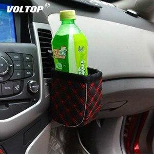 Image 2 - Universale Supporto di Tazza Auto Dellorganizzatore Drink Bottiglia di Acqua Del Supporto Del Basamento di Aria Condizionata Presa di Stoccaggio Tasca Del Sacchetto Clip