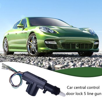 12v car door lock central control lock door mirror motor 280 miniature dc motor fc280 Dropshipping Control Central Lock 12V Car Central Locking System Solenoid Actuator Door Motor (5-Wire) Car Accessories 2020 Hot