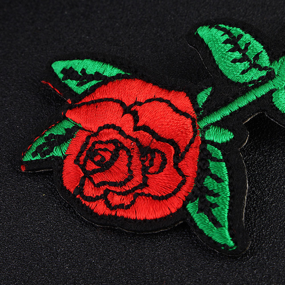 L.Mirror 1Pcs Embroidery Wedding Hair Clip Rose Flower Bridal Barrette Headpieces for  Bridesmaids New