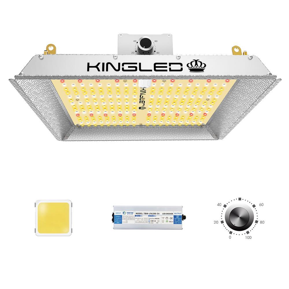 Kingled 1000W Samsung Quantum Board Led Grow Light Volledige Spectrum Groeien Lamp Voor Indoor Planten Dimbare Veg Bloei Licht hydrocultuur