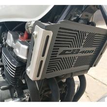 цена на For Honda CB400SF CB400 CB 400 VTEC 1/2/3/4/ 1992-2010 Motorcycle stainless steel radiator grille cover grille cover