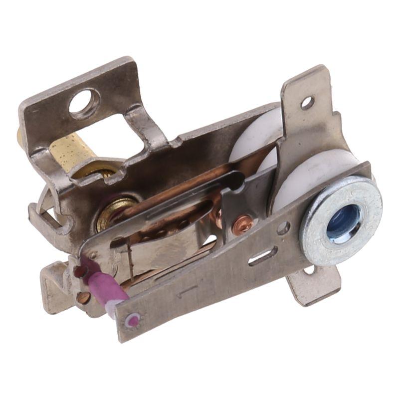 BIlinli AC 250V 16A Interruptor de Temperatura Ajustable de 90 Grados Celsius Termostato de Calentamiento bimet/álico KDT-200