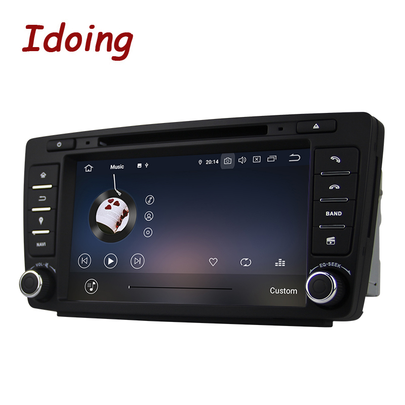 Image 5 - Idoing Android 9.0 4G+64G 8Core 2Din Steering Wheel For Skoda Octavia 2 Car Multimedia DVD Player 1080P HDP GPS+Glonass 2 din-in Car Multimedia Player from Automobiles & Motorcycles