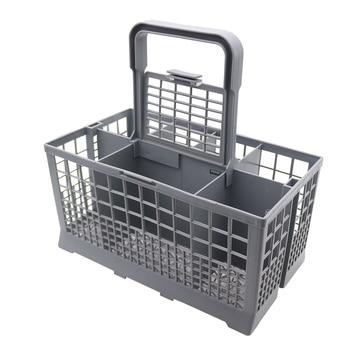 цена на 1PC Universal Cutlery Dishwasher Basket for Bosch Siemens BEKO AEG Candy Kenmore Whirlpool Maytag Kitchenaid Parts Accessories