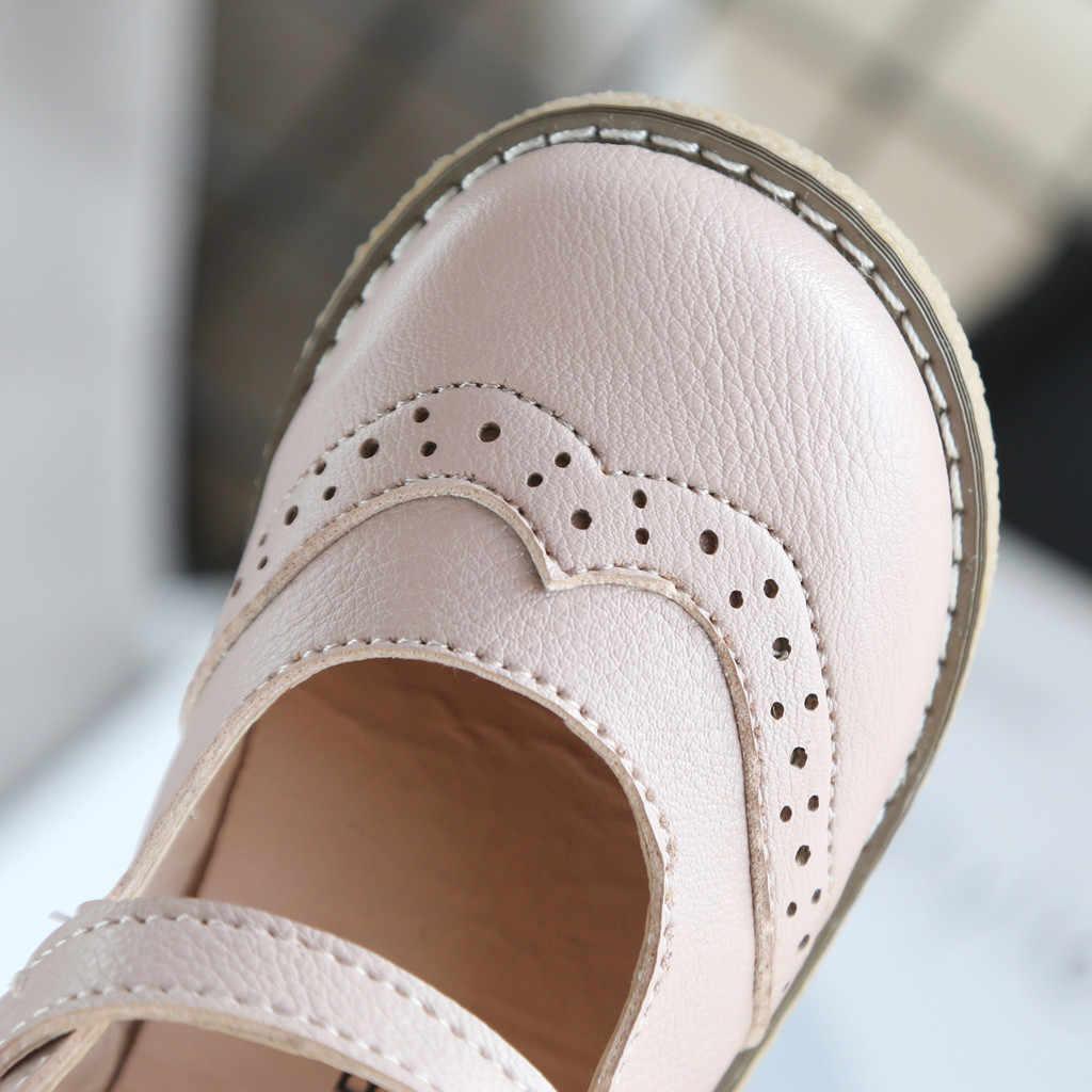เด็กวัยหัดเดินเด็กทารกเด็กหญิงชายหนังอังกฤษ PARTY นักเรียนรองเท้ารองเท้าแตะรองเท้าแตะแบนรองเท้าเด็กชายเด็กรองเท้า