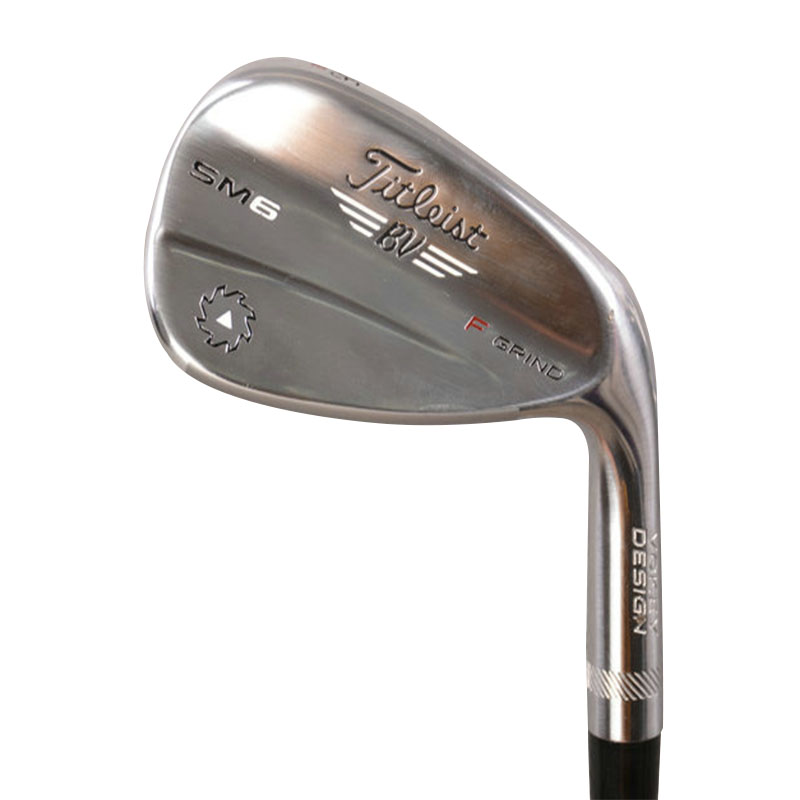 Good Quality SM6 Wedges Golf Clubs Mens Stainless Steel Shaft Sand Lob Golf Left / Right-handed 46/50/52/54/56/58/60 Degree Hot