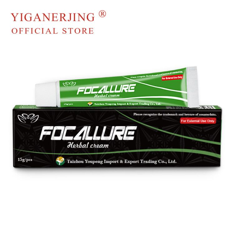 (NO BOX) YIGANERJING FOCALLURE Body Psoriasis Cream Dermatitis Eczematoid Eczema Ointment Treatment Psoriasis Balm 15g