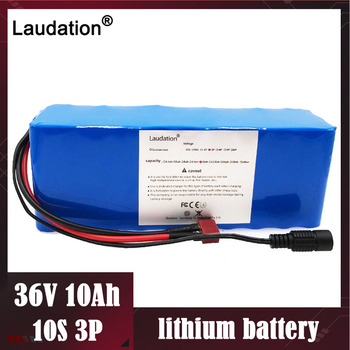 laudation 36 V 10ah lithium battery 10S 3P 36 volt 18650 Rechargeable battery changing bicycles Electric car protection with BMS
