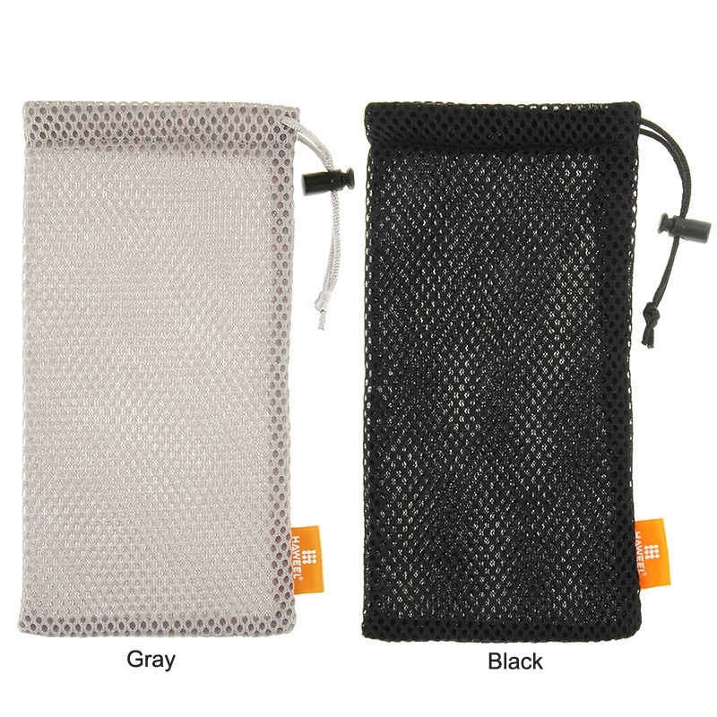 Portable Mobile Phone Pouch Bag Soft Flannel Pouch Case Pearl Button Universal bags for Power Bank for universal Mobile Phone