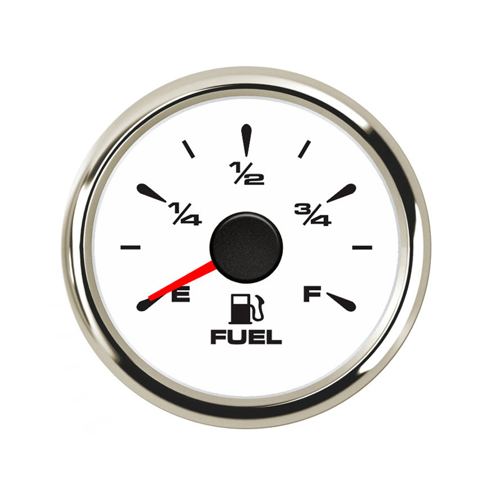 High Quanlity 52 Mm Fuel Level Gauge 9~32 V Car Boat Fuel  Indicator With 0~190 Ohm/ 240~33ohm