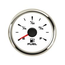 Высокое качество 52 мм датчик уровня топлива 9~ 32 В индикатор топлива для автомобиля лодки с 0~ 190 Ом/240~ 33 Ом