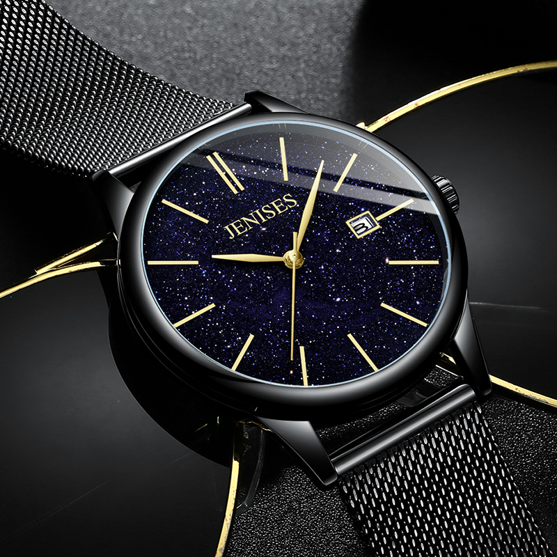 Watches Men Starry Sky Luxury Brand Male Watch Quartz Waterproof Gift For Man Watch Sport Casual Date Men's Wristwatch Clock