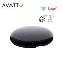AVATTO-Control remoto inteligente para el hogar, dispositivo con WiFi, infrarrojos, compatible con Smart Home, TV, DVD, Audi, funciona con Alexa y Google Home