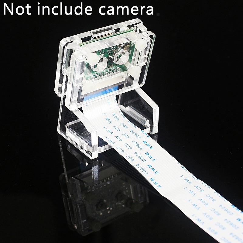 Ov5647 мини-камера акриловый держатель прозрачный кронштейн веб-камеры для Raspberry Pi 3 камеры