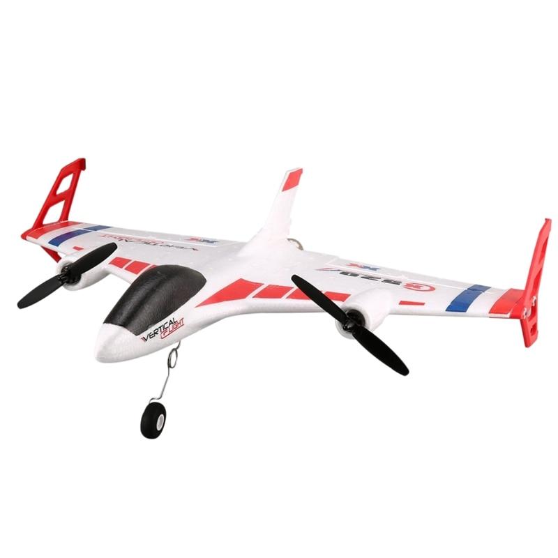 Wltoys Xk X520 Rc 6Ch 3D/6G avion Vtol décollage Vertical terre Delta aile Rc Drone à aile fixe avion jouet avec interrupteur de Mode Led
