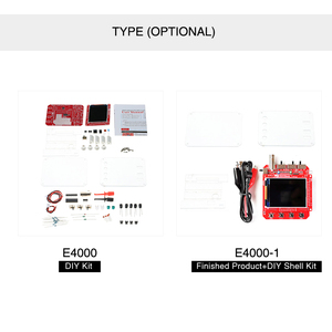 Image 5 - JYE Tech DSO138 Mini Digital Oscilloscope DIY Kit SMD Parts Pre soldered Electronic Learning Set 1MSa/s Transparent Case